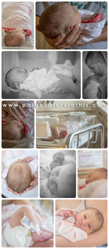 Fresh 24 Newborn Session in Hospital | Picture This Photography | www.paigespicturethis.com