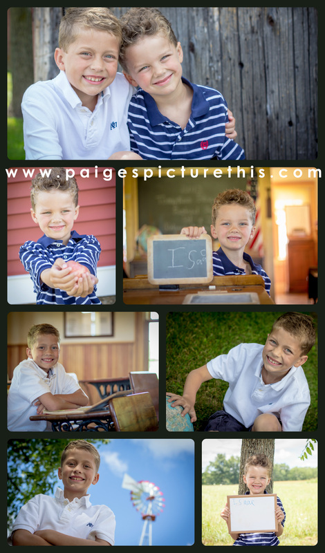 Back to School Session | Picture This Photography | www.paigespicturethis.com